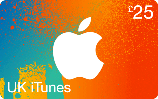 £25 iTunes UK Gift Card